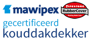Door Mawipex ben ik gecertificeerd voor advisering, levering en toepassing van EPDM koude dakbedekking.