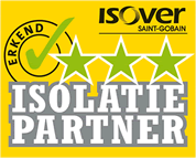 Als drie sterren gecertificeerd Isover Isolatie Specialist adviseer en zorg ik voor de levering en plaatsing van isolatieproducten.