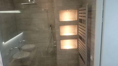 Nieuwe badkamer en toilet Arnhem
