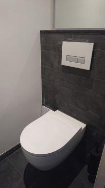 Maken modern toilet in Doesburg