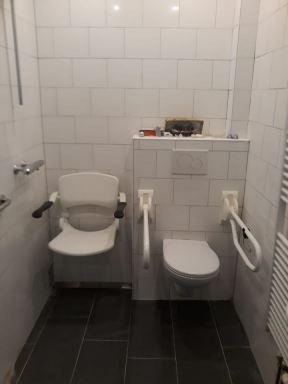 aanpassing voor invalide toilet