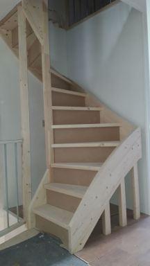zolder met trap en traphek wageningen