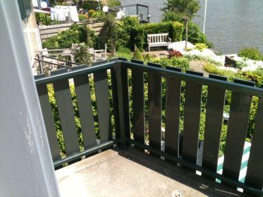 Hekwerk balkon Made