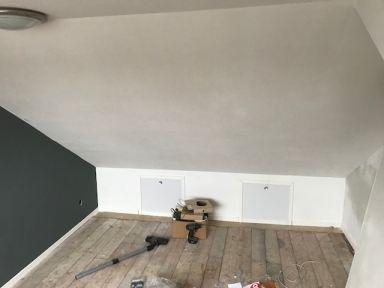 Kamer van zolderverbouwing in Oosterhout