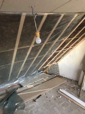 Dak voorzien van isolatie zolderverbouwing Oosterhout