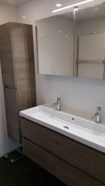 Badkamer vernieuwing