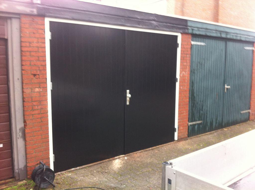 Zelf geproduceerd en monteert garage deuren in Enschede