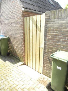 Tuinpoort vervangen Steenbergen