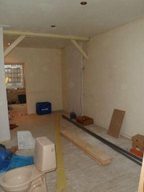 Verbouwen restaurant en woonhuis Kiko tot studenten kamers.