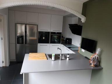 Nieuwe keuken geplaatst Ede
