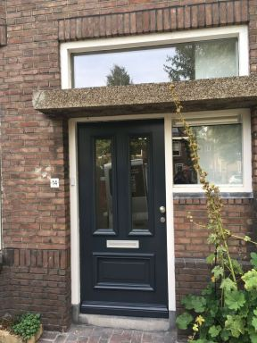 Nieuwe voordeur en ramen dubbelglas