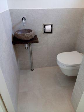 Toilet verbouwing Druten