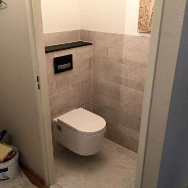 Toilet verbouwing, Capelle aan den IJssel