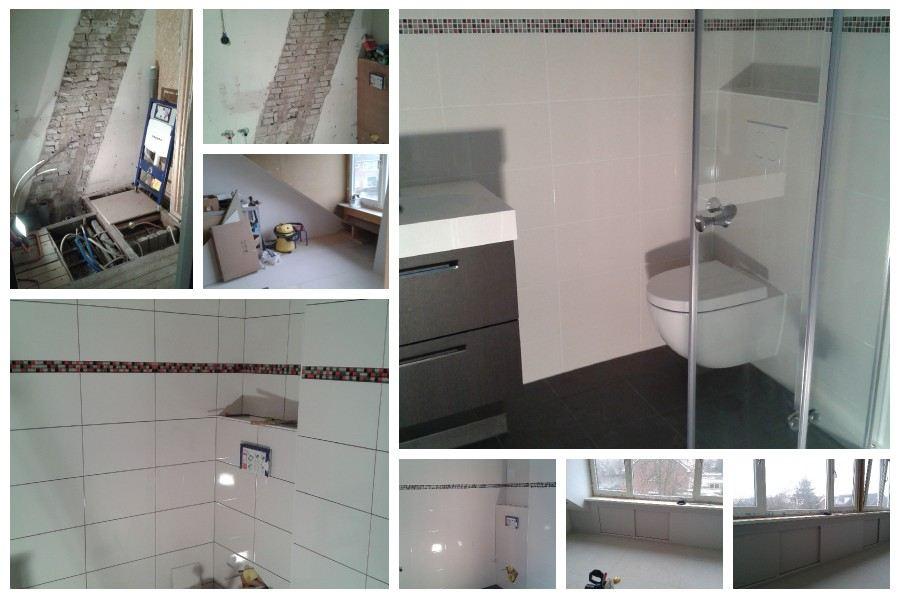 Zolder verbouwing met 2de badkamer in Santpoort - Noord