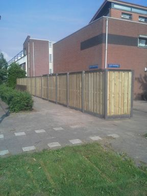 Schutting Almere Filmwijk
