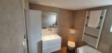 Badkamer verbouwing Almere Muziekwijk toilet