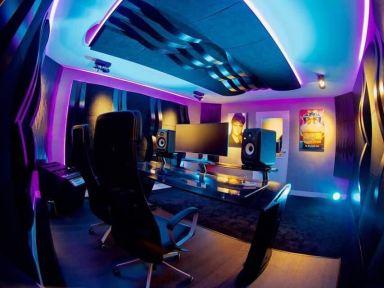 Studio bij 1 van de Toppers