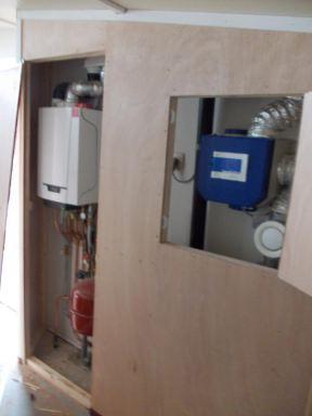 Maatwerk kast CV-ketel Den Bosch