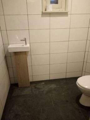 tegels toilet vervangen