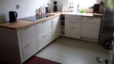 Ikea keuken geplaatst