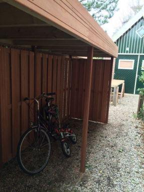 fietsenstalling binnenzijde Oegstgeest