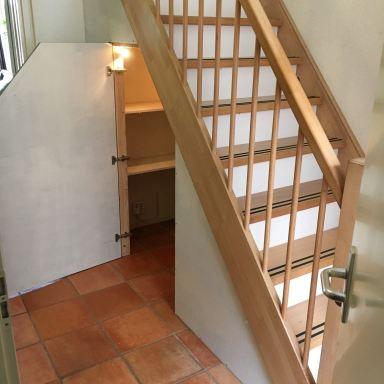 trapkast en stootborden in Valkenburg