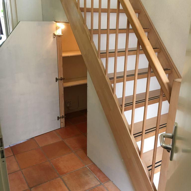 trapkast en stootborden