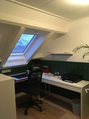 Kantoorruimte op zolder gerealiseerd in Assen