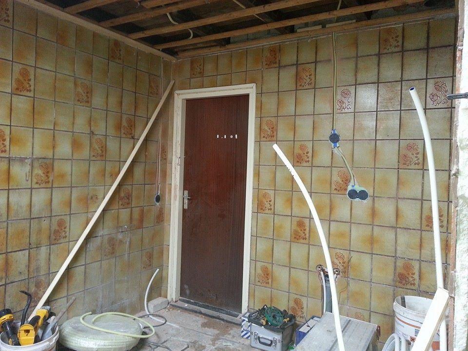 Badkamer en wc renovatie zorgboerderij winschoten de klussenier