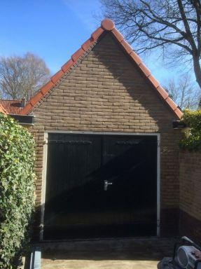 Garage na reinigen en bedekking