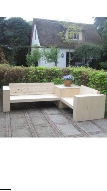 Ook voor tuin meubilair op maat