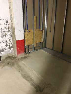 Verbouwing sanitaire ruimten