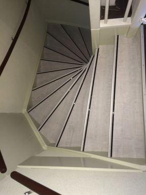 Renovatie trap Den Haag