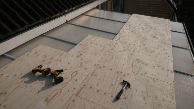 Dakopbouw dakje 1