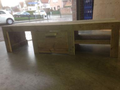 Steigerhouten TV-meubel gemaakt in Sommelsdijk