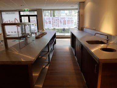 Verbouwing chocoladebar Delft