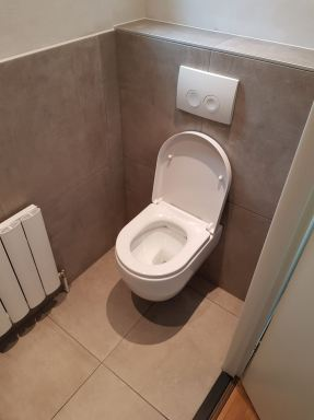 Toilet na renovatie dronten