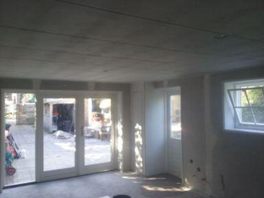 Garage omgebouwd tot atelier te Tilburg