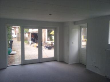 Garage omgebouwd tot Atelier in Tilburg