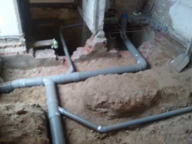 Betonvloer met vloerverwarming gemaakt in Goirle