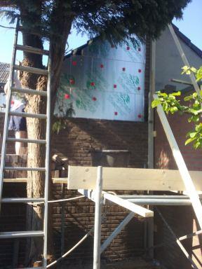 Metselwerk gevel keuken in Goirle