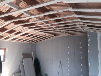 Wanden en plafond gipsen