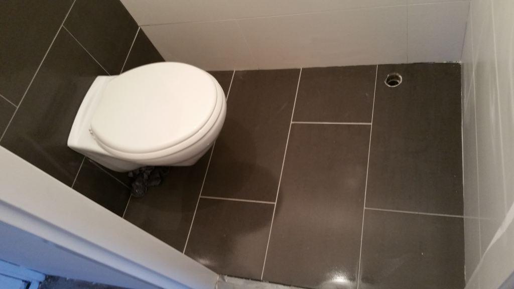 Complete wc renovatie, Leidschendam.