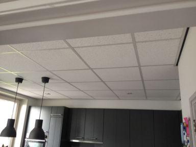 Systeem plafond aangebracht te Marknesse