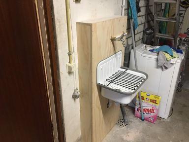 Renovatie toilet en hal Zeewolde