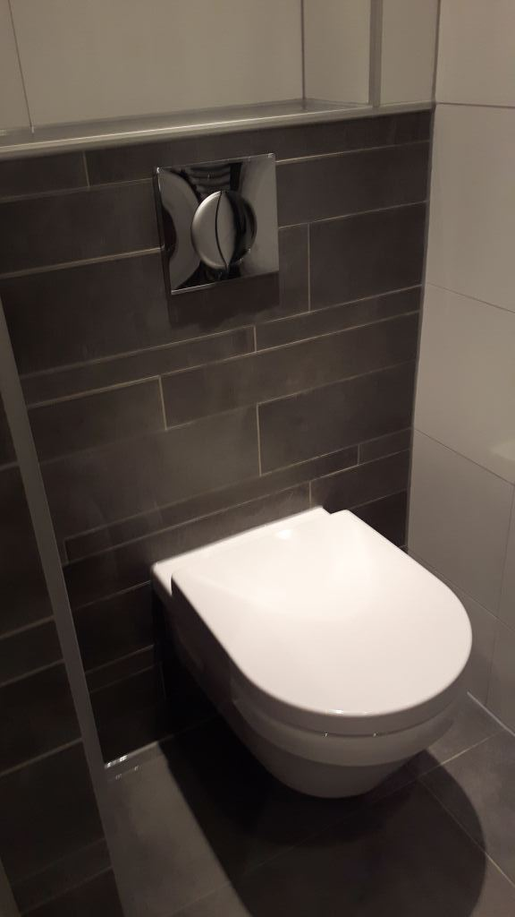 Toilet vernieuwing Almelo