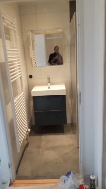 Badkamer verbouwen + Toilet renoveren Enter