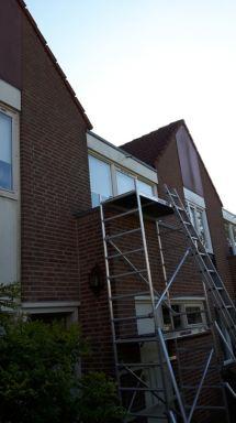 Kozijn vervangen Almelo met hergebruik van raam en thermopane glas
