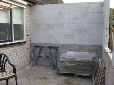 Uitbouw keuken + toilet Lunteren