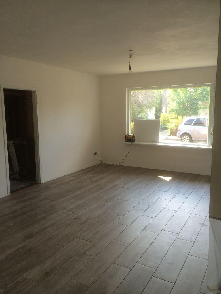 Nieuwe vloer met vloerverwarming plaatsen in Zuidland